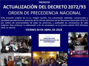 PROYECTO ACTUALIZACIÓN DEC. 2072/93