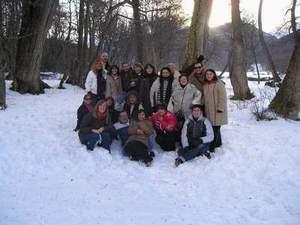 Cerro Castor (todos en la nieve)