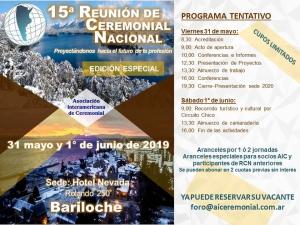 15 Reunión de Ceremonial Nacional