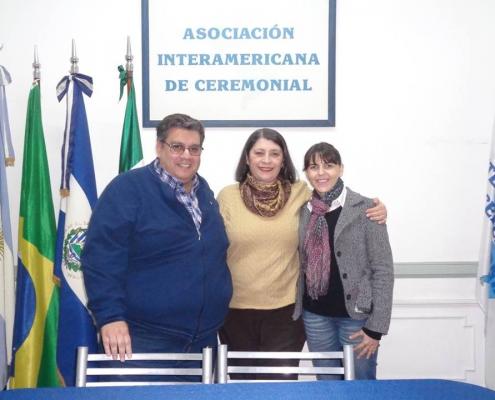 Visita de colegas de las Municipalidades de Coronel Suárez y Puán