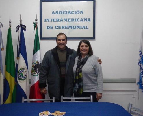 Visita a nuestra sede del Tcnl. Francisco Guillermo Cuffaro