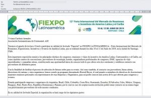 INVITACIÓN A FIEXPO 2019