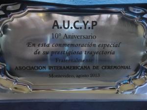 ANIVERSARIO AUCYP