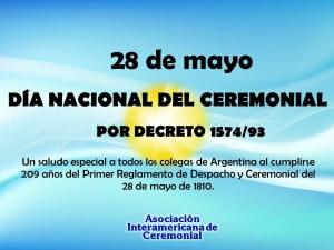 DIA DEL CEREMONIAL EN ARGENTINA